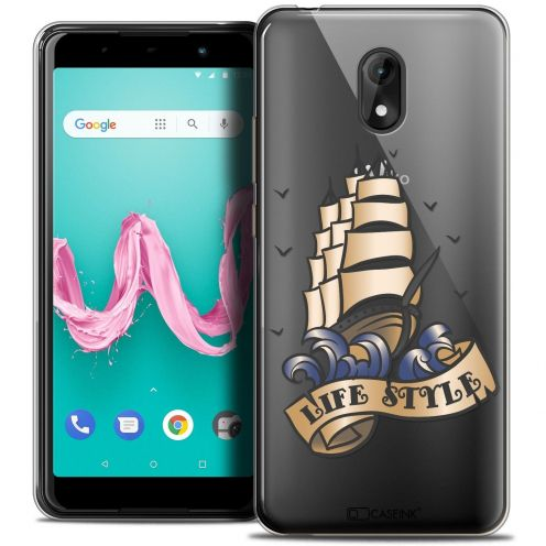 """Coque Crystal Gel Wiko Lenny 5 (5.7"""") Extra Fine Tatoo Lover - Life Style"""