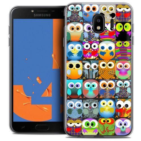 "Coque Crystal Gel Samsung Galaxy J4 2018 J400 (5.5"") Extra Fine Claude - Hibous"