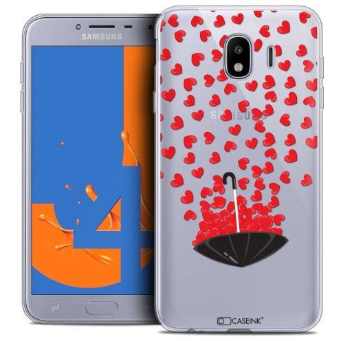 "Coque Crystal Gel Samsung Galaxy J4 2018 J400 (5.5"") Extra Fine Love - Parapluie d'Amour"