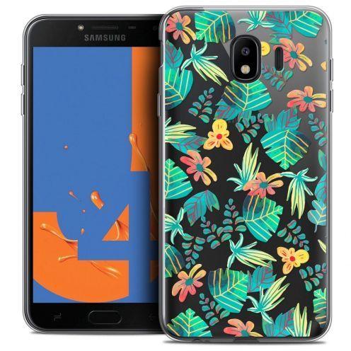 "Carcasa Crystal Gel Extra Fina Samsung Galaxy J4 2018 J400 (5.5"") Spring Tropical"