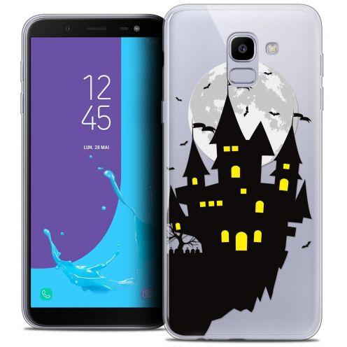 """Coque Crystal Gel Samsung Galaxy J6 2018 J600 (5.6"""") Extra Fine Halloween - Castle Dream"""