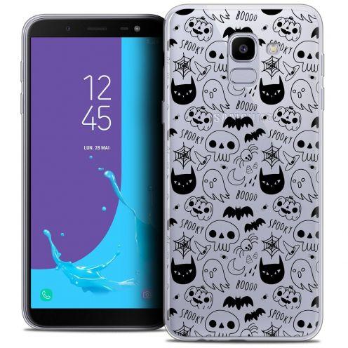 "Coque Crystal Gel Samsung Galaxy J6 2018 J600 (5.6"") Extra Fine Halloween - Spooky"