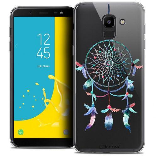 """Coque Crystal Gel Samsung Galaxy J6 2018 J600 (5.6"""") Extra Fine Dreamy - Attrape Rêves Rainbow"""