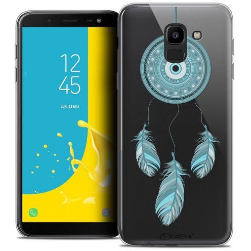 """Coque Crystal Gel Samsung Galaxy J6 2018 J600 (5.6"""") Extra Fine Dreamy - Attrape Rêves Blue"""