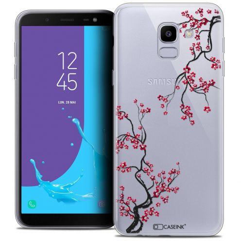 "Coque Crystal Gel Samsung Galaxy J6 2018 J600 (5.6"") Extra Fine Summer - Sakura"