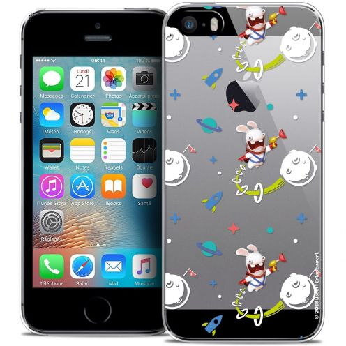 Carcasa Crystal iPhone 5/5s/SE Lapins Crétins™ Space 2
