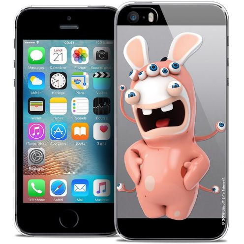 Carcasa Crystal iPhone 5/5s/SE Lapins Crétins™ Extraterrestre