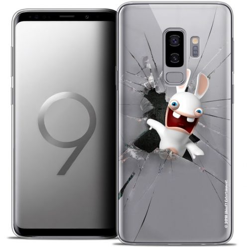 "Carcasa Crystal Gel Samsung Galaxy S9+ (6.2"") Lapins Crétins™ Breaking Glass"