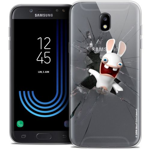 "Carcasa Crystal Gel Samsung Galaxy J5 2017 J530 (5.2"") Lapins Crétins™ Breaking Glass"