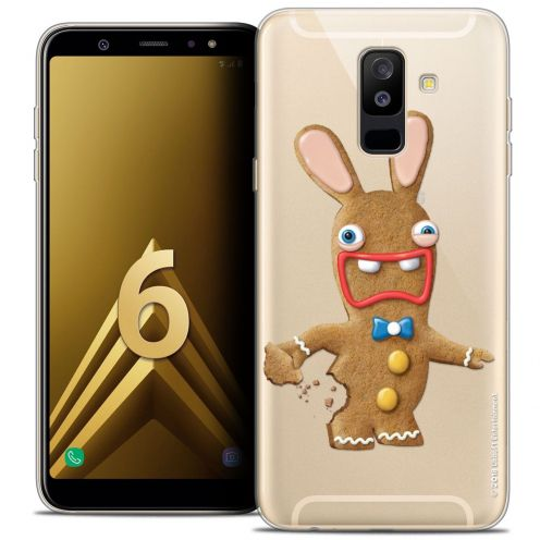 "Carcasa Crystal Gel Samsung Galaxy A6 PLUS 2018 (6"") Lapins Crétins™ Cookie"