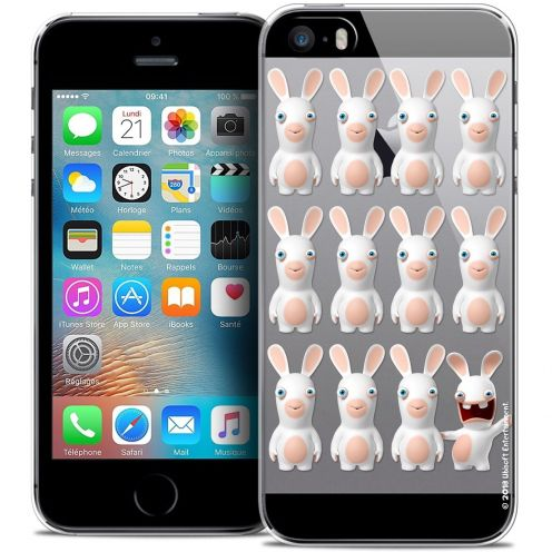 Carcasa Crystal iPhone 5/5s/SE Lapins Crétins™ Im ready Pattern