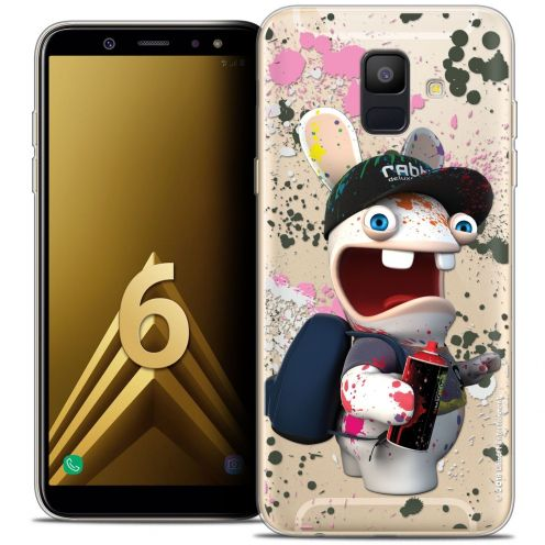 "Carcasa Crystal Gel Samsung Galaxy A6 2018 (5.45"") Lapins Crétins™ Painter"