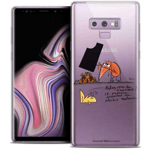 "Coque Gel Samsung Galaxy Note 9 (6.4"") Extra Fine Les Shadoks® - Le Travail"