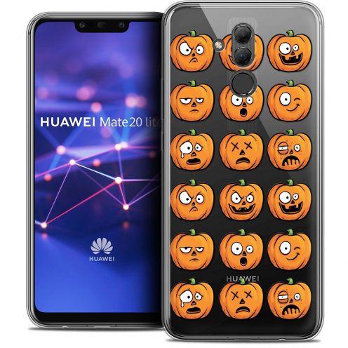 "Carcasa Crystal Gel Extra Fina Huawei Mate 20 Lite (6.3"") Halloween Cartoon Citrouille"