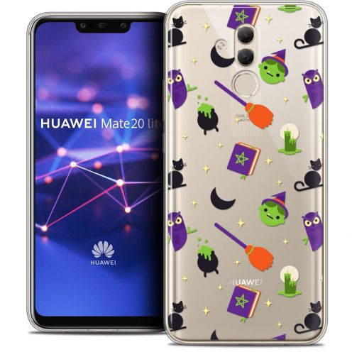 "Carcasa Crystal Gel Extra Fina Huawei Mate 20 Lite (6.3"") Halloween Witch Potter"
