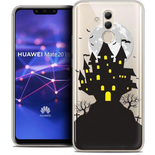 "Carcasa Crystal Gel Extra Fina Huawei Mate 20 Lite (6.3"") Halloween Castle Scream"