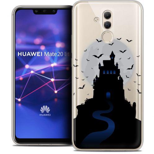 "Carcasa Crystal Gel Extra Fina Huawei Mate 20 Lite (6.3"") Halloween Castle Nightmare"