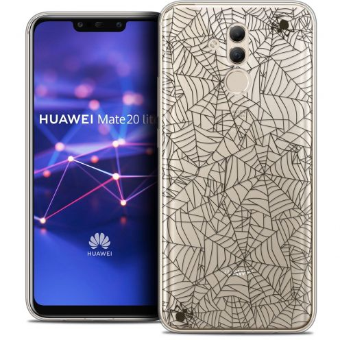 """Coque Crystal Gel Huawei Mate 20 Lite (6.3"""") Extra Fine Halloween - Spooky Spider"""
