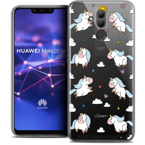 """Coque Crystal Gel Huawei Mate 20 Lite (6.3"""") Extra Fine Fantasia - Licorne In the Sky"""