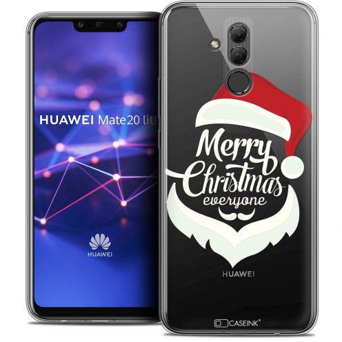 "Carcasa Crystal Gel Extra Fina Huawei Mate 20 Lite (6.3"") Noël 2017 Merry Everyone"