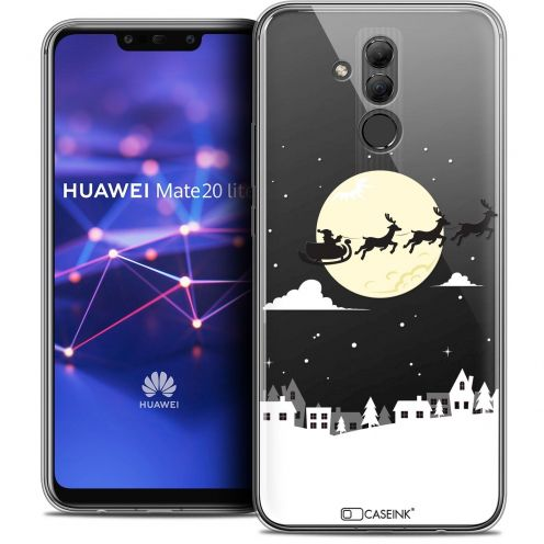 "Coque Crystal Gel Huawei Mate 20 Lite (6.3"") Extra Fine Noël 2017 - Flying Stanta"