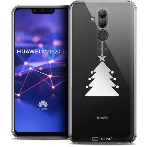 "Carcasa Crystal Gel Extra Fina Huawei Mate 20 Lite (6.3"") Noël 2017 Petit Arbre"