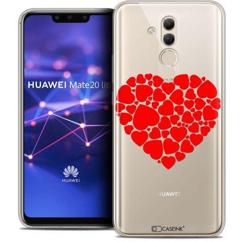 "Coque Crystal Gel Huawei Mate 20 Lite (6.3"") Extra Fine Love - Coeur des Coeurs"