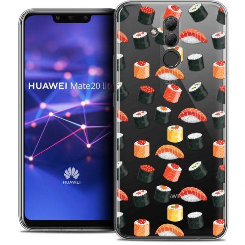 "Carcasa Crystal Gel Extra Fina Huawei Mate 20 Lite (6.3"") Foodie Sushi"