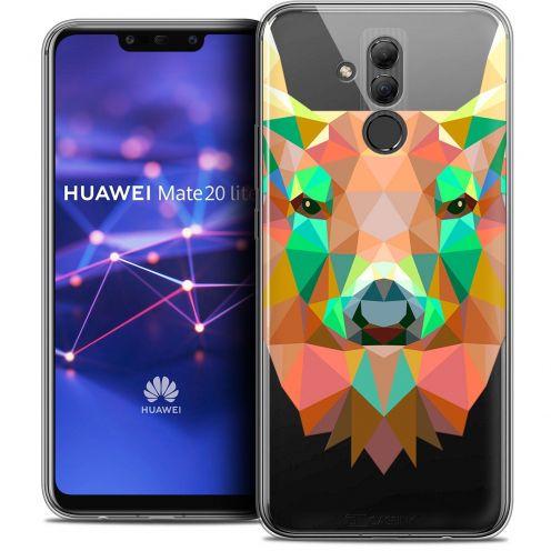 "Carcasa Crystal Gel Extra Fina Huawei Mate 20 Lite (6.3"") Polygon Animals Ciervo"