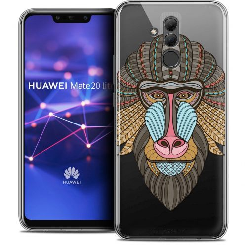 """Coque Crystal Gel Huawei Mate 20 Lite (6.3"""") Extra Fine Summer - Babouin"""