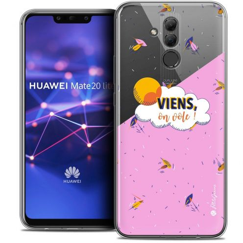 "Coque Gel Huawei Mate 20 Lite (6.3"") Extra Fine Petits Grains® - VIENS, On Vole !"