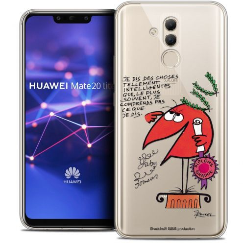 "Coque Gel Huawei Mate 20 Lite (6.3"") Extra Fine Les Shadoks® - Intelligent"