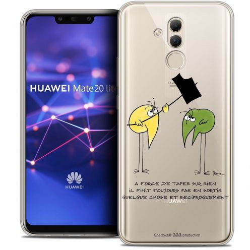 """Coque Gel Huawei Mate 20 Lite (6.3"""") Extra Fine Les Shadoks® - A Force"""