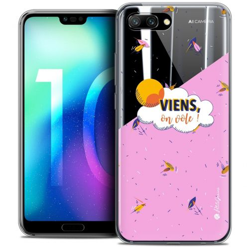"""Coque Gel Huawei Honor 10 (5.8"""") Extra Fine Petits Grains® - VIENS, On Vole !"""