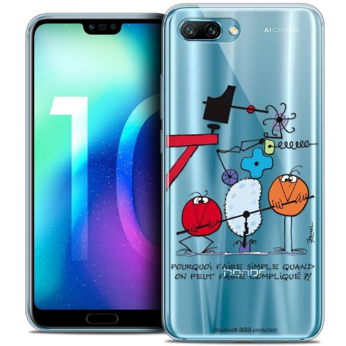 """Coque Gel Huawei Honor 10 (5.8"""") Extra Fine Les Shadoks® - Pourquoi faire Simple"""