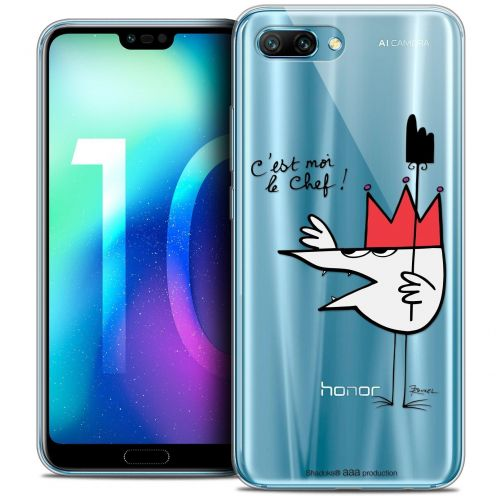 """Coque Gel Huawei Honor 10 (5.8"""") Extra Fine Les Shadoks® - Le Chef"""