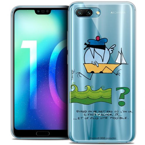 """Coque Gel Huawei Honor 10 (5.8"""") Extra Fine Les Shadoks® - Il Faut Y Aller !!"""