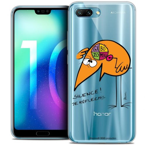 """Coque Gel Huawei Honor 10 (5.8"""") Extra Fine Les Shadoks® - Silence !"""