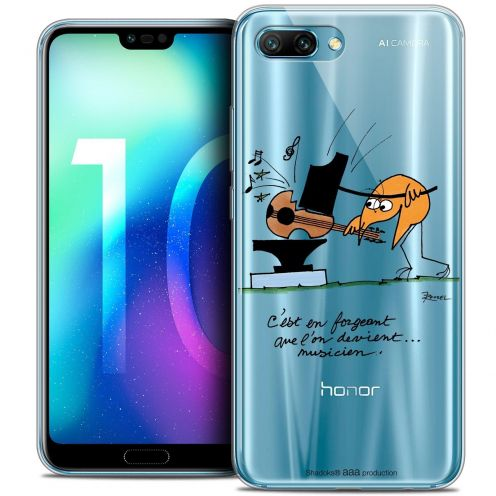 """Coque Gel Huawei Honor 10 (5.8"""") Extra Fine Les Shadoks® - Musicien"""