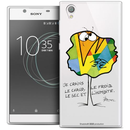 "Carcasa Crystal Gel Extra Fina Sony Xperia L1 (5.5"") Les Shadoks® Chaud ou Froid"
