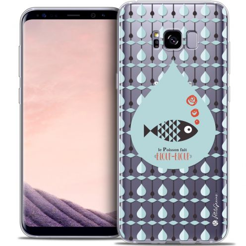 Carcasa Crystal Gel Extra Fina Samsung Galaxy S8 (G950) Petits Grains® Le Poisson