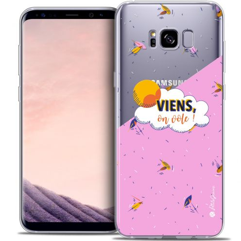 Carcasa Crystal Gel Extra Fina Samsung Galaxy S8 (G950) Petits Grains® VIENS, On Vole !
