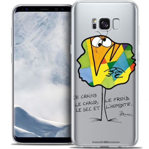 Carcasa Crystal Gel Extra Fina Samsung Galaxy S8+/ Plus (G955) Les Shadoks® Chaud ou Froid