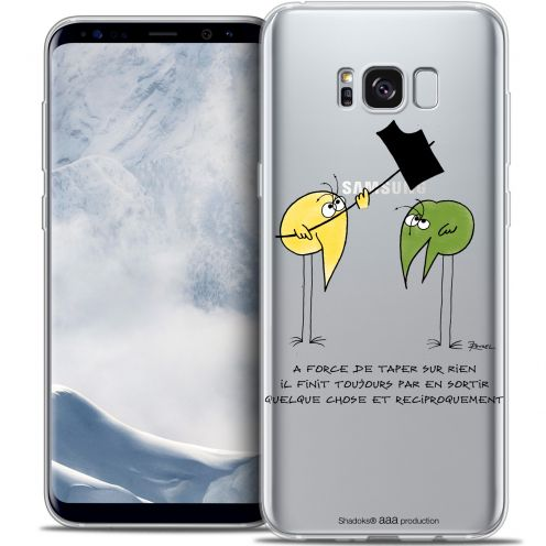 Carcasa Crystal Gel Extra Fina Samsung Galaxy S8+/ Plus (G955) Les Shadoks® A Force