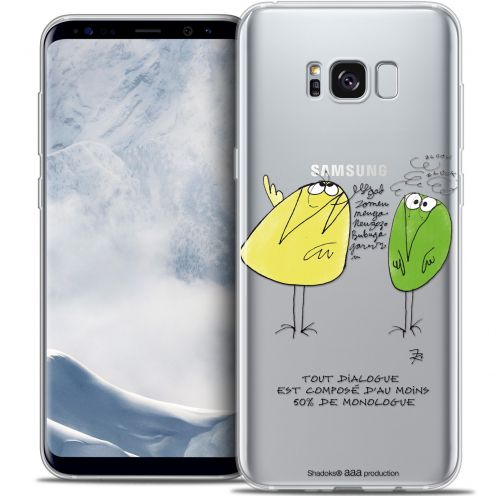 Carcasa Crystal Gel Extra Fina Samsung Galaxy S8+/ Plus (G955) Les Shadoks® Le Dialogue