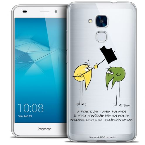 Carcasa Crystal Gel Extra Fina Huawei Honor 5C Les Shadoks® A Force