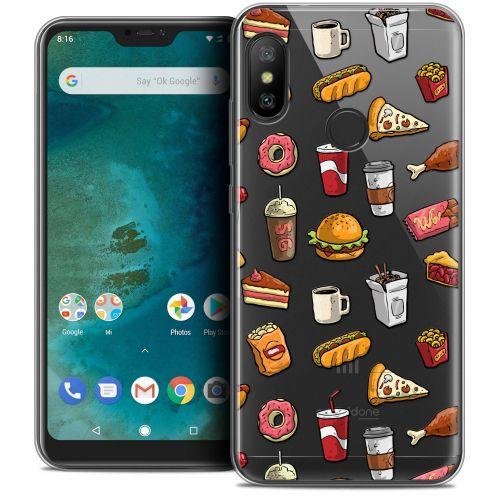 "Carcasa Crystal Gel Extra Fina Xiaomi Mi A2 LITE (5.8"") Foodie Fast Food"