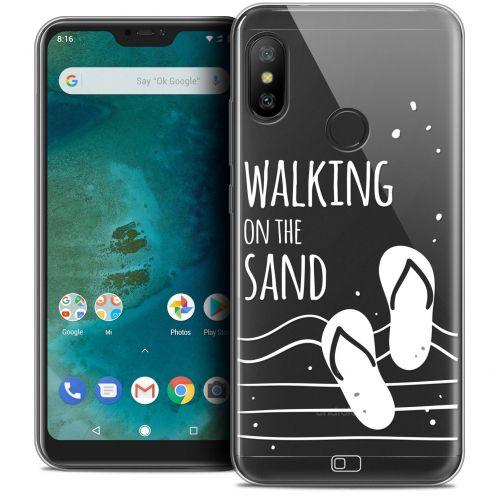 "Carcasa Crystal Gel Extra Fina Xiaomi Mi A2 LITE (5.8"") Summer Walking on the Sand"
