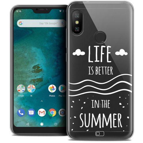 "Carcasa Crystal Gel Extra Fina Xiaomi Mi A2 LITE (5.8"") Summer Life's Better"