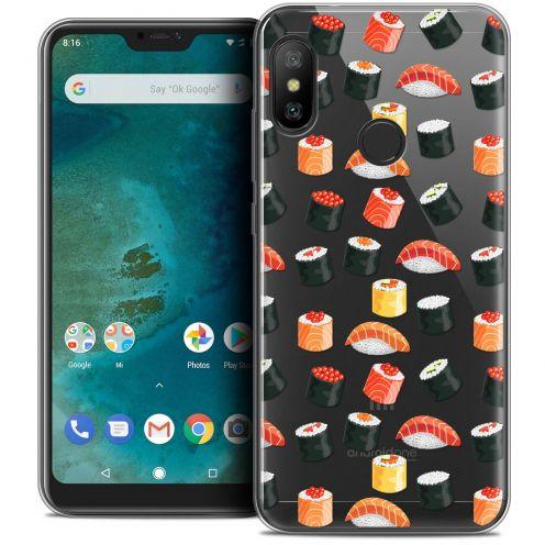 "Carcasa Crystal Gel Extra Fina Xiaomi Mi A2 LITE (5.8"") Foodie Sushi"
